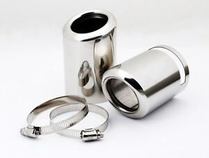 For Bmw X3 2 8 Xdrive28i F25 2011 2012 2014 Chrome Exhaust Muffler Tip Pipe