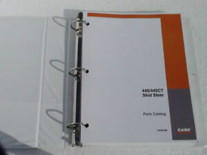 Case 445 445ct Skid Steer Parts Catalog Manual Book