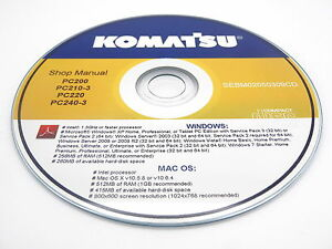 Komatsu Ck20 1 Crawler Skid steer Track Loader Shop Repair Service Manual