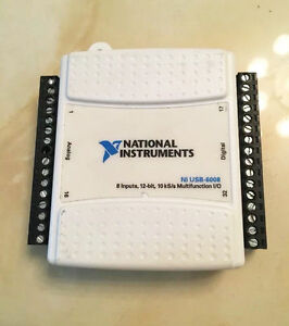 National Instruments Ni Usb 6008 Data Acquisition Card