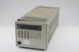 Hp agilent N3301a System Dc Electronic Load Mainframe no Modules