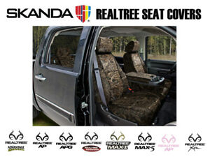 Coverking Solid Realtree Camo Tailored Front Seat Covers For Ford F250 Superduty