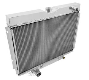 1967 1968 1969 Ford Ranchero 3 Row Champion Racing Radiator Big Block V8