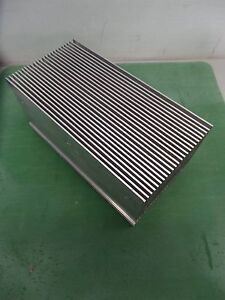 Aluminum Heatsink 9 1 2 X 4 3 4 X 4 1 2 Heat Sink Nice Condition