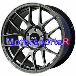 18 33 Xxr 530 Chromium Black Wheels Rims 5x120 00 17 Bmw 2 3 4 Series P40 Style