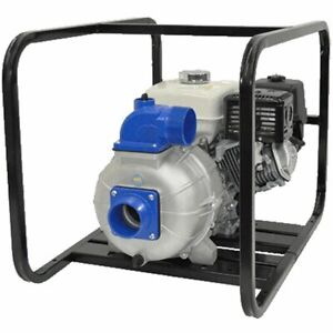 Ipt Pumps 4s13xhr 530 Gpm 4 Electric Start Trash Pump W Honda Gx390 Engine