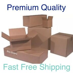 Cardboard Shipping Boxes Mailing Moving Delivery Packing Move Superior Quality