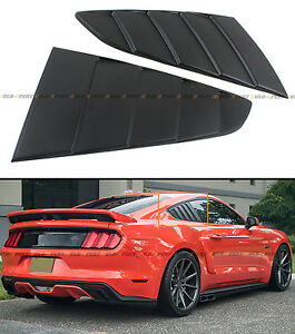 For Ford Mustang 2015 16 Gt C Style Side Vent Window Quarter Scoop Louver Cover