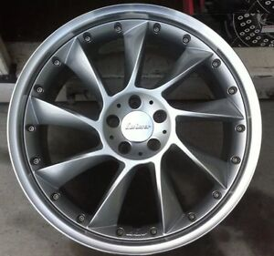 Lorinser Lm6 2 Pc 20 X 10 Et38 5 112 Silver New Made In Germany One Wheel Only