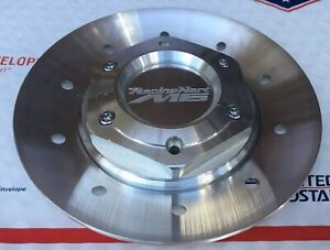 Racing Hart M6 Aluminum Wheel Rim Center Hex Cap And Plate One Cap Only Jdm New