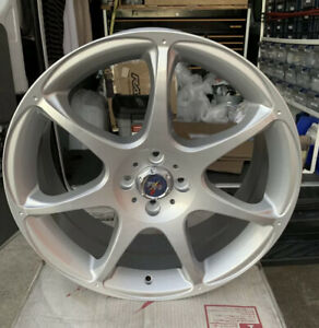 New Racing Hart S7 Evolution 18 X7 5 Et42 4 100 Silver Jdm One Wheel Only