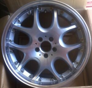 Brabus Mono V 2pc 9 5 X 19 Et 35 5 112 Chrome Made In Germany One Wheel Only