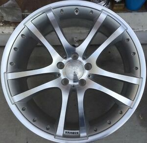 Brabus Monoblock S 2 Pc 20 X 9 Et 45 5 112 Silver Made In Germany One Wheel Only