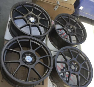 Racing Hart Evo Cp10 18 X 7 5 Et 42 4 114 3 Br Bronze Color Set Of 4 Wheels Jdm