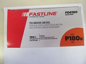 Fastline By Sherwin Williams Commercial 6 Psa Sanding Discs 180 Grit 100 Roll