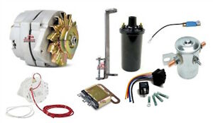 1937 1954 Dodge Plymouth 12 Volt Conversion Kit With Electric Starter