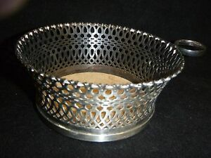 Napier Art Deco Design Silverplate Wine Bottle Holder