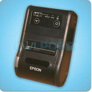 Epson Tm p60ii Bluetooth Portable Mobile Thermal Receipt Printer Android M292b