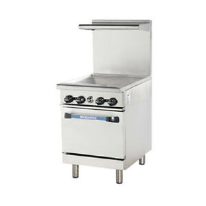 Turbo Air Tar 24g Radiance 24 Nat Gas Restaurant Range With Standard Oven Base