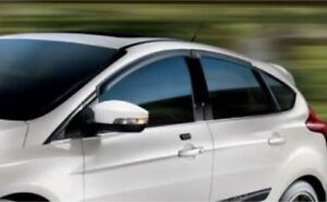 2012 2017 Focus Vent Shades Window Deflectors Genuine Ford Accessory