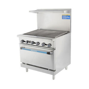 Turbo Air Tar 36rb Radiance 36 Nat Gas Restaurant Range W Standard Oven Base