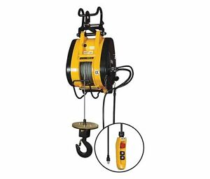 Oz Lifting Electric Wire Rope Hoist For Scaffold 1000 Lbs obh1000ng