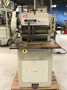 Lawson Hi Speed Paper Drill Super Duty Up To 7 Bits Price Reduced