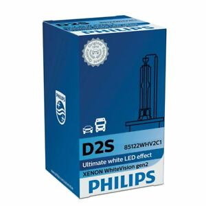 Philips Whitevision 85122whv2c1 Gen2 1x D2s Xenon Hid Lamp 120 More Vision