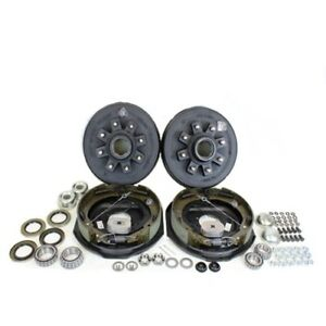 Southwest Wheel 7 000 Lbs Trailer Axle Self Adjusting Electric Brake Kit