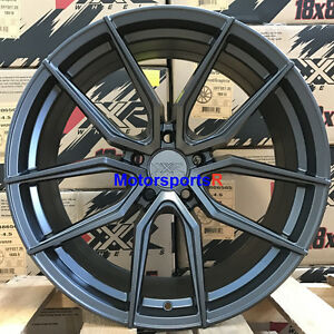 Xxr 559 Wheels 18 20 Flat Graphite Rims Staggered 5x4 5 04 Ford Mustang Cobra R