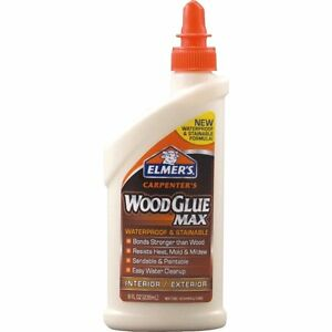 case Of 12 Elmer s Carpenter s Wood Glue Max 8 Oz