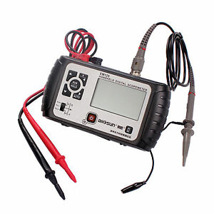 Oscilloscope Em125 Mini Handheld Digital Scope Meter 2 In 1 Pocket Size 25mhz