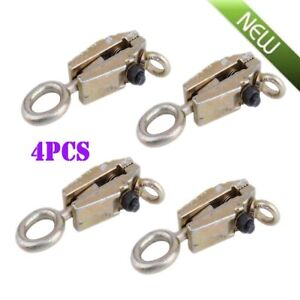 4 X 5 Ton Clamp Self Tightening Frame Body Repair Small Mouth Pull Clamp Tool Vp