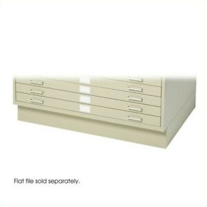 Safco Flat File Closed Base In Tropic Sand