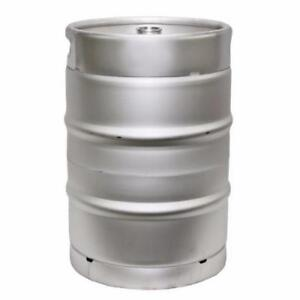 1 2 Barrel Stainless Steel Commercial Beer Half Keg 15 5 Gallon Sanke D Spear