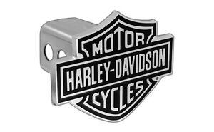Harley Davidson Trailer Hitch Cover Plug With 3d Bar Shield