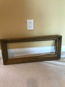 Antique Aesthetic Eastlake Victorian Art Nouveau Deep Picture Frame