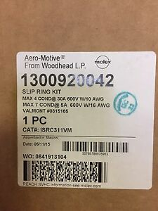 New Woodhead 13009200042 Aero motive Slip Ring