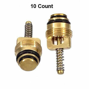 10 Qty M10 A C Schrader Valve Core Fitting For Ford Gm Chrysler Mt0065 15 75236