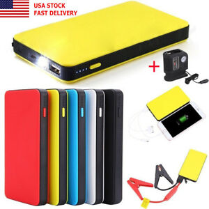 Unique 12v 20000mah Car Jump Starter Pack Booster Charger Battery Power Bank Vip