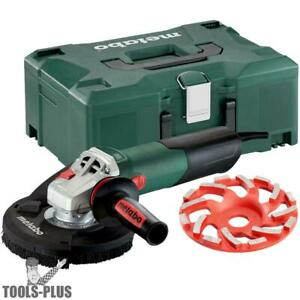 Metabo 600465620 13 5 Amp 5 In Angle Grinder W vacuum Shroud New