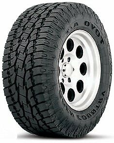 Toyo Open Country A T Ii Lt255 80r17 E 10pr Bsw 4 Tires