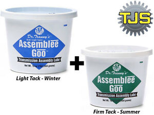 Lubegard Transmision Rebuild Assembly Lube Grease Dr Tranny Assemblee Goo 2pcs