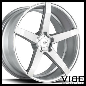 22 Savini Bm11 Silver Concave Wheels Rims Fits Chrysler 300 300c 300s 300m