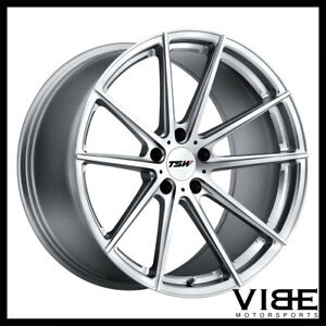 20 Tsw Bathurst Silver Forged Concave Wheels Rims Fits Lexus Isf