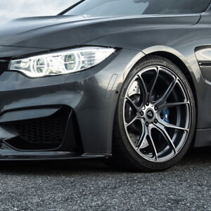 19 Vorsteiner V ff 103 Forged Concave Graphite Wheels Rims Fits Bmw F82 M4