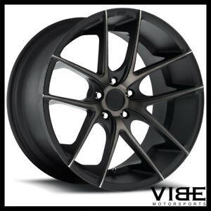 19 Niche Targa Machined Concave Wheels Rims Fits Toyota Camry