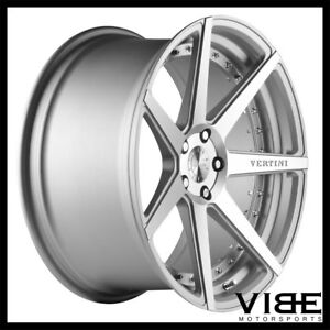 20 Vertini Dynasty Silver Concave Wheels Rims Fits Mercedes W220 S430 S500 S55