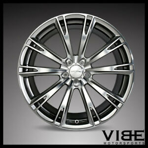 20 Ace Aspire Hyperblack Concave Wheels Rims Fits Ford Mustang Shelby Gt Gt500