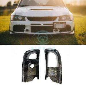 Frp Auto Kit For Mitsubishi Evolution Evo 9 2004 2007 Front Bumper Air Ducts